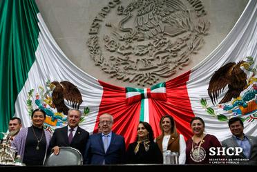 La Cámara de Diputados ratificó por unanimidad al Secretario de Hacienda, Carlos Urzúa, y funcionarios de la SHCP.