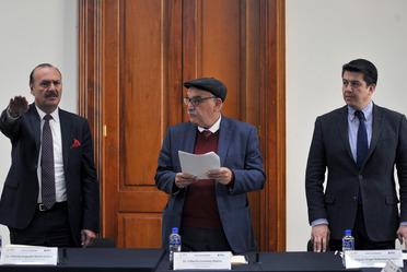 Rinde protesta Marcos Bucio como Director General del INEA
