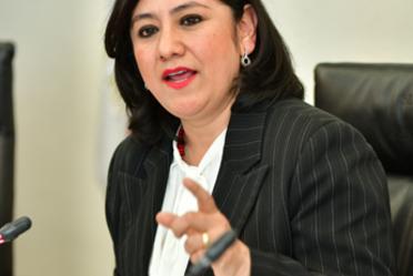 Comparecencia de la Titular de la SFP ante las Comisiones Unidas del Senado