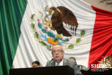 El secretario de Hacienda, Carlos Urzúa, presentó las iniciativas del Paquete Económico 2019 en la Cámara de Diputados