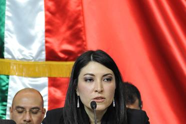 La subsecretaria de Egresos, Victoria Rodríguez Ceja, se reunió con la Comisión de Presupuesto y Cuenta Pública, Cámara de Diputados