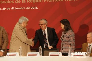 Firma del Decreto de Estímulos Fiscales Frontera Norte en Monterey, Nuevo León