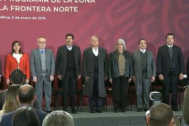 Inicio del Programa de la Zona Libre de la Frontera Norte, Cd. Juárez, Chihuahua