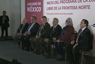 Inicio del Programa de la Zona Libre de la Frontera Norte, Tijuana, Baja California