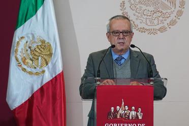 El secretario de Hacienda, Carlos Urzúa, asistió la presentación del Programa de la Zona Libre de la Frontera Norte, en Ciudad Juárez, Chih.