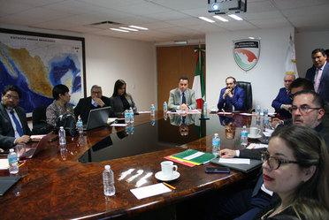 Reunión con el Gobernador del Estado de Colima