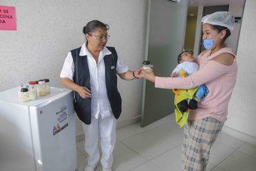 Estado de México líder nacional en captación y donación de leche materna
