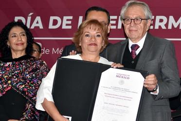 Convoca Alcocer Varela al personal de enfermería a sumarse a la transformación de los Servicios de Salud