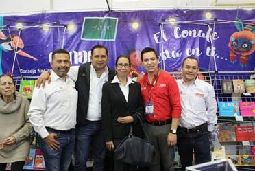 Presentación de la agenda Conafe en la FIL Guadalajara 2018