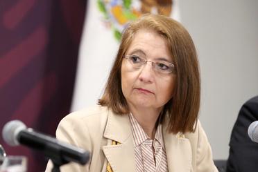 """2019-ene-16, """"México en el CPTPP"""". Conferencia de prensa de la Subsecretaria de Comercio Exterior, Luz María de la Mora"""