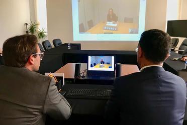 Videoconferencia con el Banco Mundial