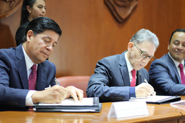 Convenio de colaboración en formación profesional ASA-UAEM