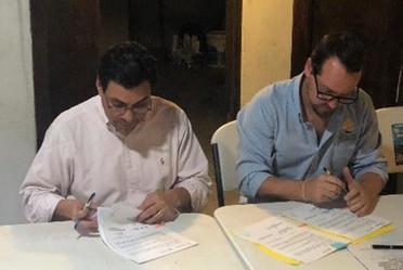 La firma del convenio forma parte de la estrategia de sostenibilidad financiera de la CONANP con el sector privado