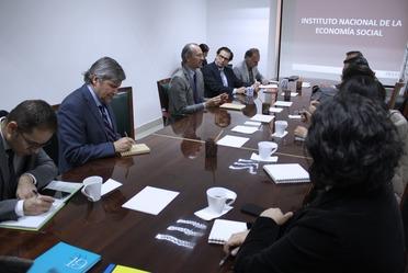 Funcionarios de INAES se reúnen con representantes de la Secretaría de Gobernación