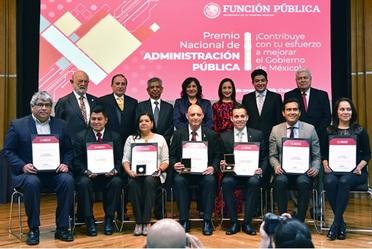 Ganadores del Premio Nacional de Administración Pública 2018 Primer Grado: