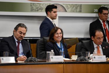 Comparecencia Rocío Nahle, Secretaria de Energía, ante la tercera Comisión de la Permanente. Cámara de Diputados