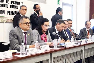 Participación del Dr. Abraham E. Vela Dib en la Comisión de Hacienda y Crédito Público de la Cámara de Diputados