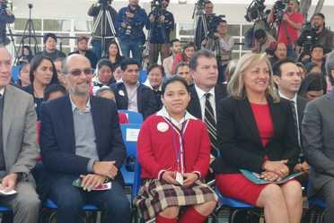 A la izquierda, David Cervantes Peredo, subsecretario de Ordenamiento Territorial de la Secretaría de Desarrollo Agrario, Territorial y Urbano.