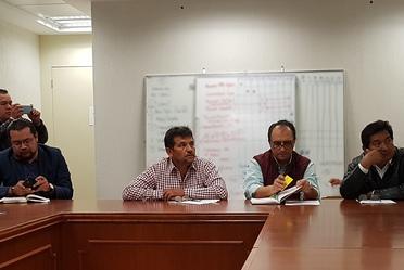 Reunión del equipo de CONAVI con el Secretario de Bienestar y Política Social de Morelia, Michoacán