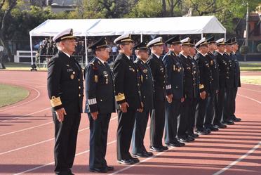 Imposición de medallas Legión de Honor y Mérito Facultativo.
