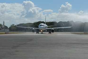 Inaugura Aeropuerto Internacional de Chetumal nueva ruta con destino a Guadalajara