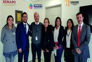 Se revisan los avances en las vertientes del Programa de Fortalecimiento al Registro Civil en el estado de Yucatán.