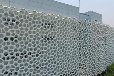"""Diseño arquitectónico de la fachada del nuevo edificio del Hospital General """"Dr. Manuel Gea González"""""""