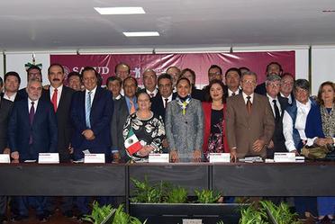 Reunión Nacional para la firma de los Anexos del Acuerdo de Coordinación para la Ejecución del Sistema de Protección Social en Salud