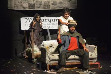 """La obra de teatro """"Érase una vez un rey"""" gana premio a la mejor puesta en escena."""