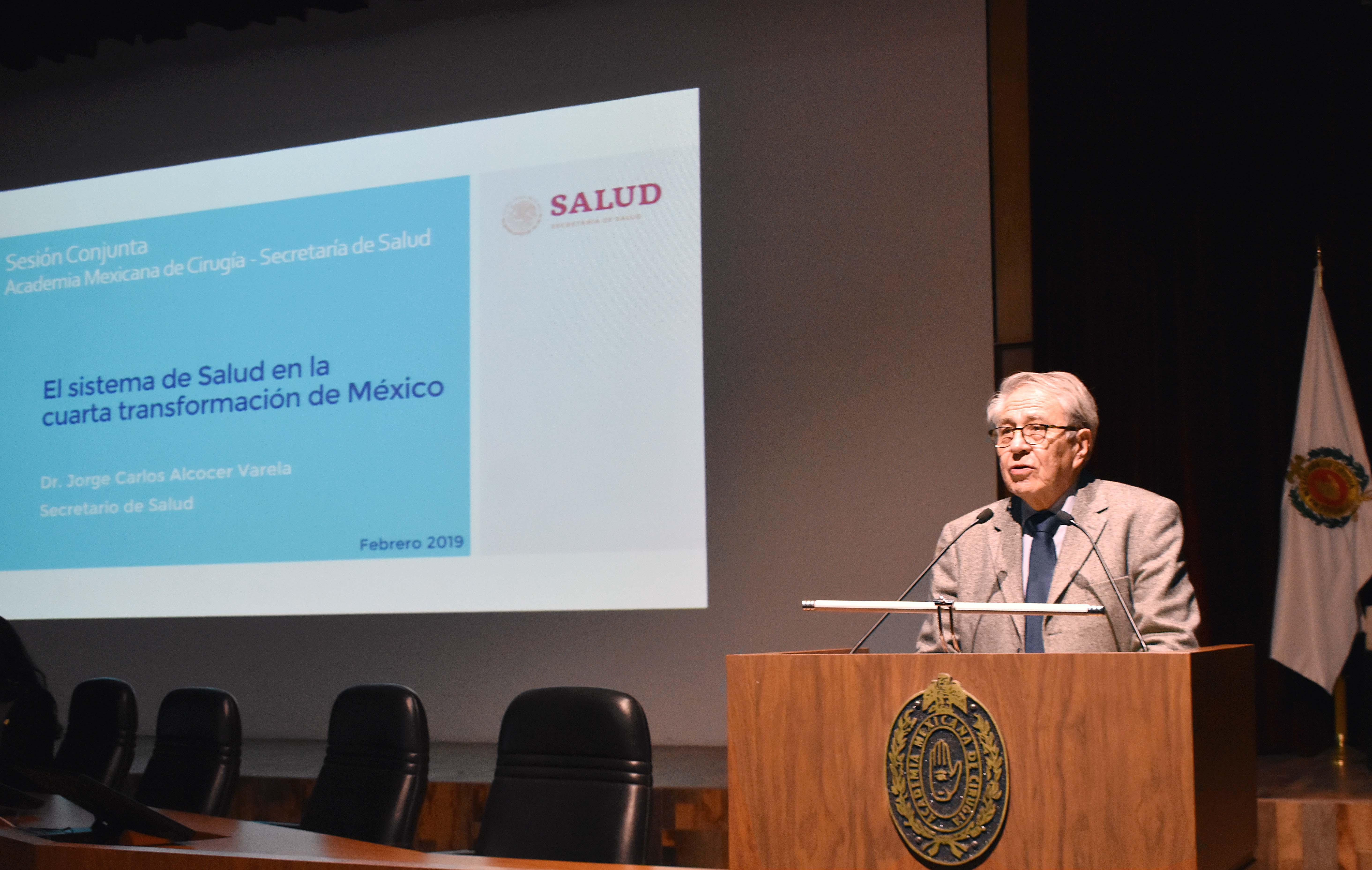Dr. Jorge Alcocer.