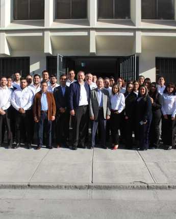 Gira de trabajo del Ing. Javier Delgado a la Coordinación Regional Norte