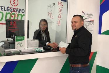 Inauguración de 1era. Sucursal Telecomm en Novoava, Chihuahua