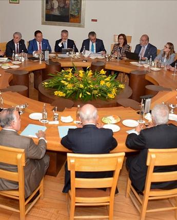 Reunión en la Comisión Ejecutiva del Consejo Coordinador Empresarial