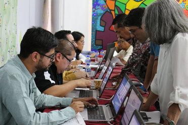 Funcionarios de la STPS y el Indesol presentaron a Organizaciones de la Sociedad Civil cómo integrarse al Programa Jóvenes Construyendo el Futuro