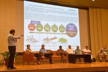 Participantes de la Primera Asamblea libre, informada y participativa sobre la Termoeléctrica La Huexca, Morelos.