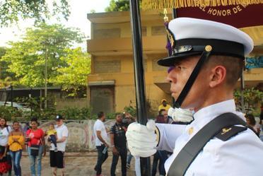 Desfile conmemorativo al CLXXV de la Independencia de República Dominicana
