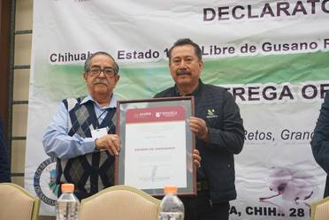 Chihuahua obtiene la declaratoria como Zona Libre de plagas del algodón