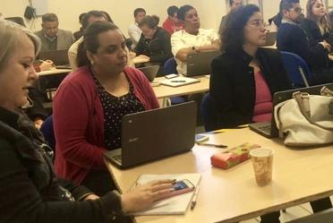 Capacitación pedagógica para el uso y aprovechamiento del Aula @prende 2.0: Aguascalientes