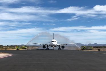 El Aeropuerto Internacional de Loreto inaugura nueva ruta con destino a la ciudad de Tijuana