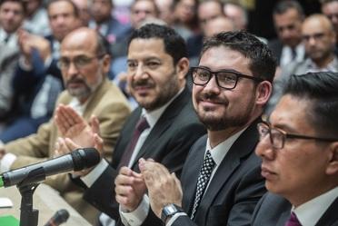 Román Meyer Falcón, Secretario de Desarrollo Agrario, Territorial y Urbano, informó sobre los avances de la SEDATU, a 100 días de gobierno.