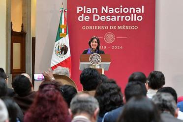 Vigilancia estricta para que haya probidad en el gobierno federal: Secretaria Sandoval Ballesteros