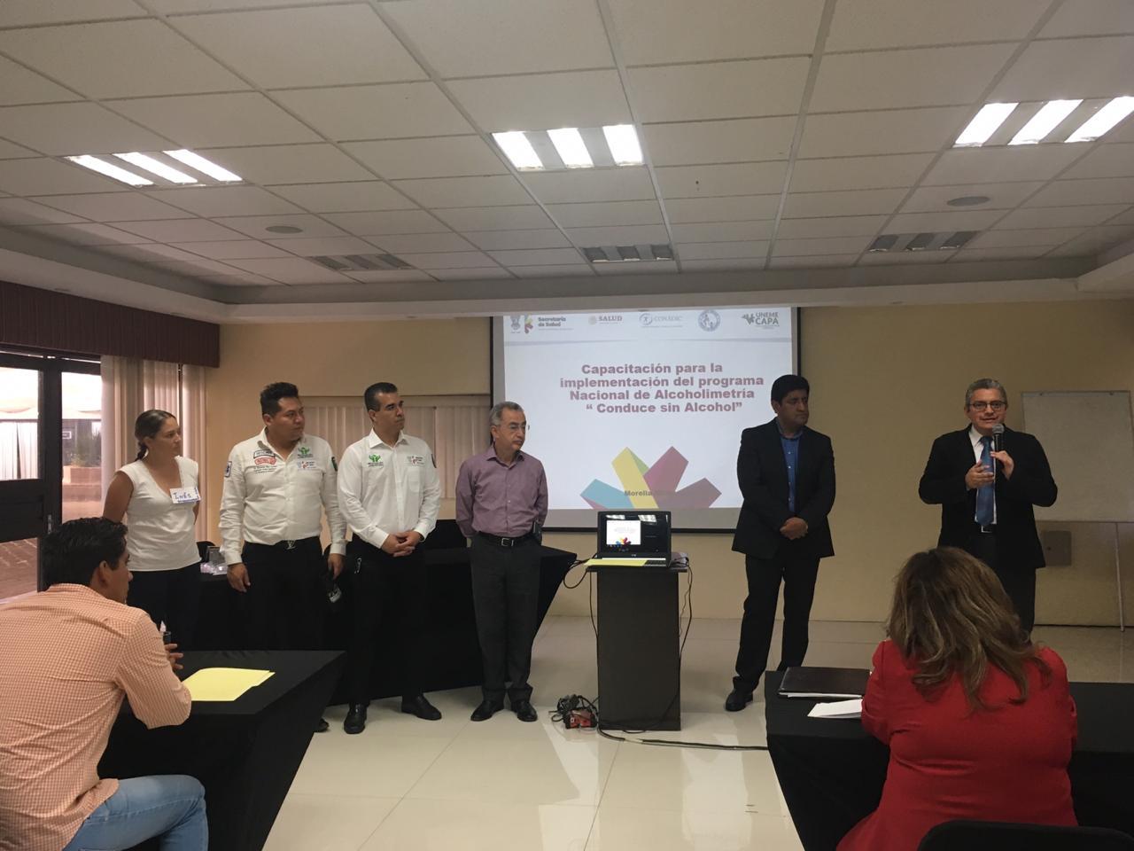 "Seguimiento al Programa de Alcoholimetría ""Conduce sin Alcohol"" en Michoacán"