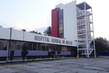 Fachada del Hospital General de México.