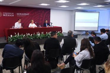 """Presentación del Programa Centro de Educación Ambiental """"Muros de Agua José Revueltas"""""""
