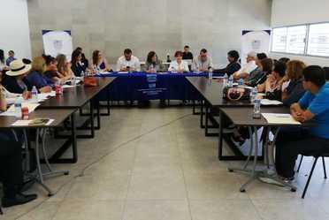 Fotografía de la Titular del Indesol durante su visita en Aguascalientes
