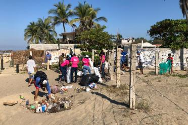 Participación de Semarnat en Global Clean Up Relay