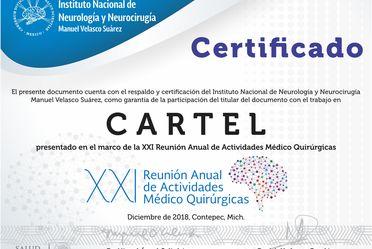 certificación de nuestras constancias y diplomas