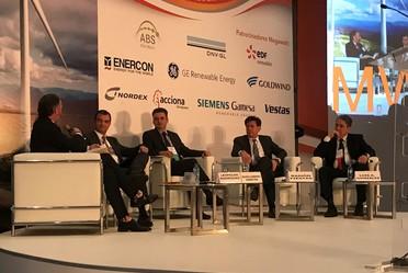 Ceremonia inaugural del Congreso y Exposición México Wind Power 2019