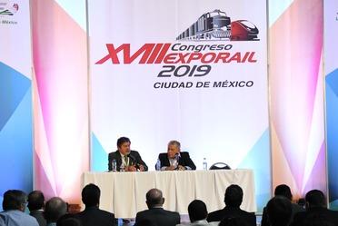 Fonatur presente en Expo Rail 2019.