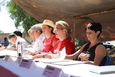 Reunión del sector ambiental en Hidalgo